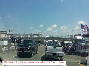 QCT Charlotte NASCAR Shuttle - Charlotte Motor Speedway