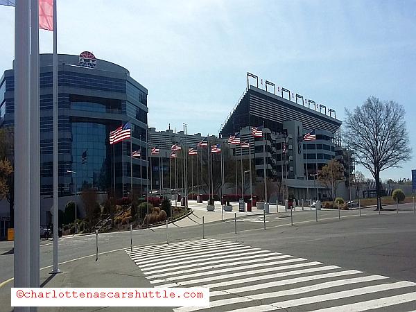 Charlotte Motor Speedway - QCT Charlotte NASCAR Shuttle