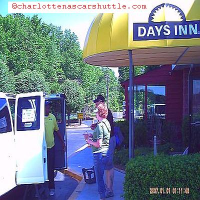 QCT Charlotte NASCAR Shuttle - Hotel Pick-Ups