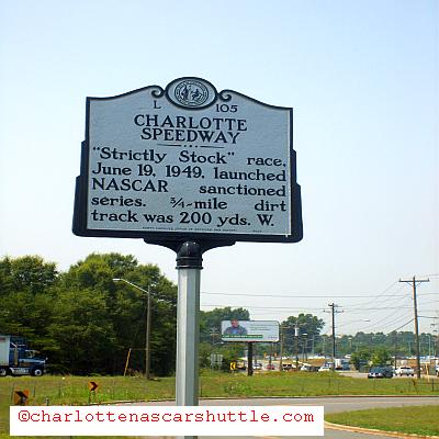 Old Charlotte Speedway - QCT Charlotte NASCAR Shuttle